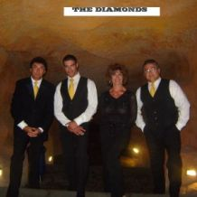 the diamonds.
