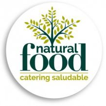 catering natural food.