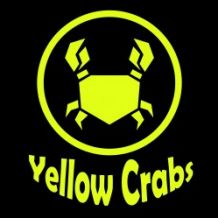 yellow crabs.