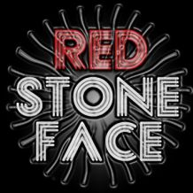 red stone face.