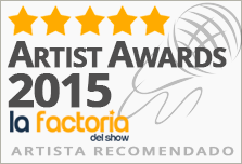 Rafa Píccola ganador artist awards 2015