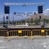 equipo line array animaciones y djs rober the party