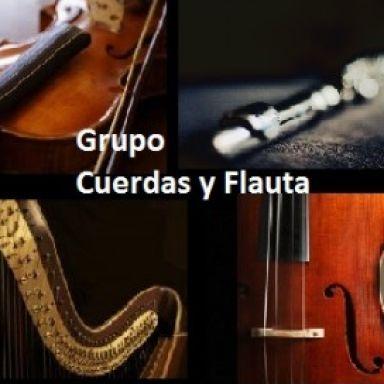 cuerdas y flauta