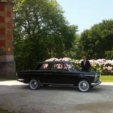 coche antiguo boda