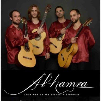 cuarteto de guitarras flamencas al hamra