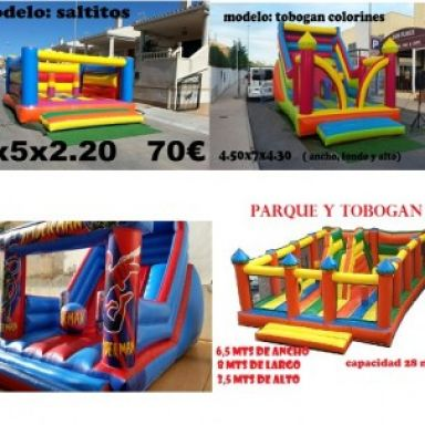 hinchables torrevieja