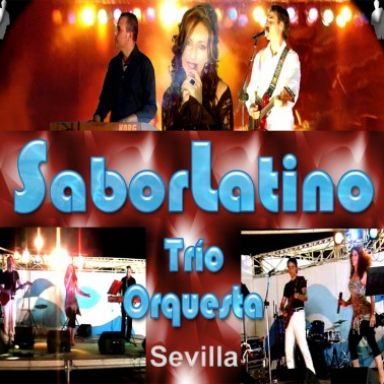 trio orquesta sabor latino de sevilla