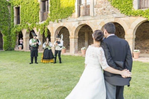 gaiteros para bodas en Madrid