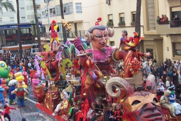 Alquiler de carrozas de Carnaval