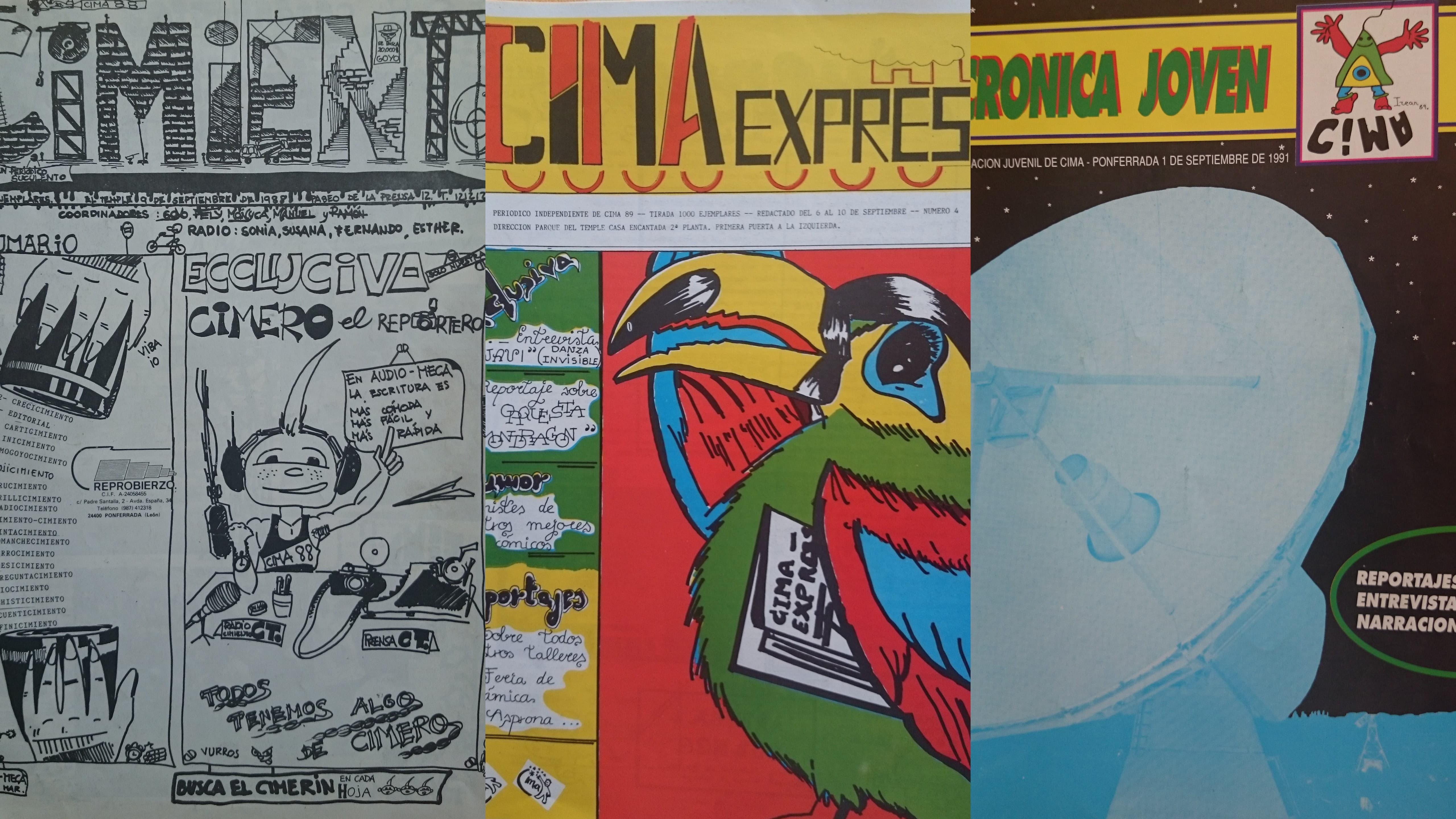 periódicos de CIMA