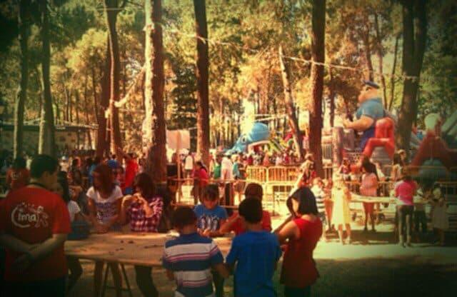 Niños jugando en CIMA