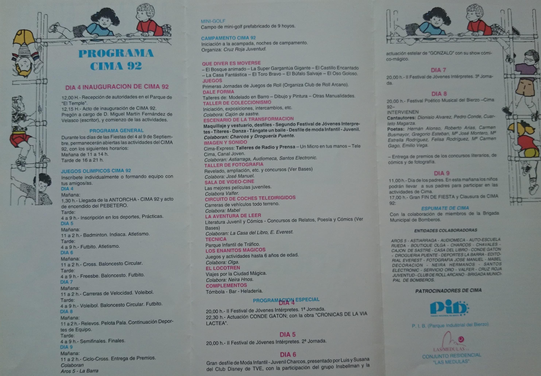 programación de CIMA