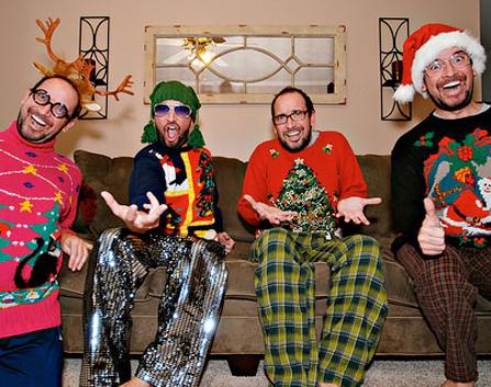 Jerseys horteras para navidad
