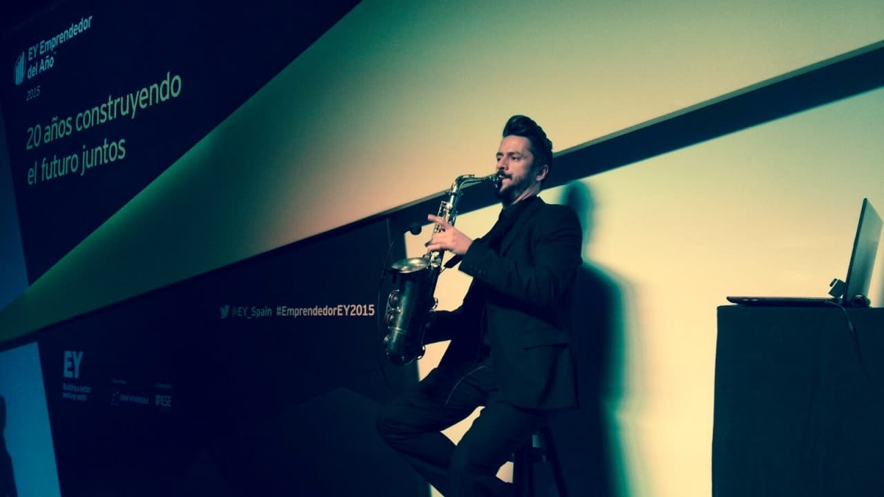 Miguel Sueiras saxofonista