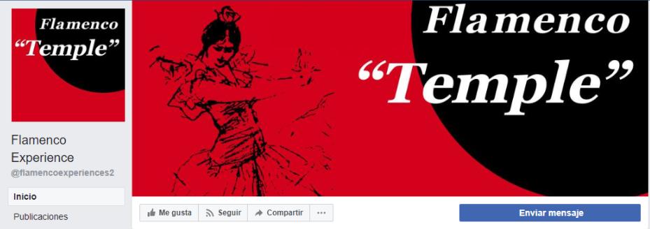 Flamenco Temple en Facebook