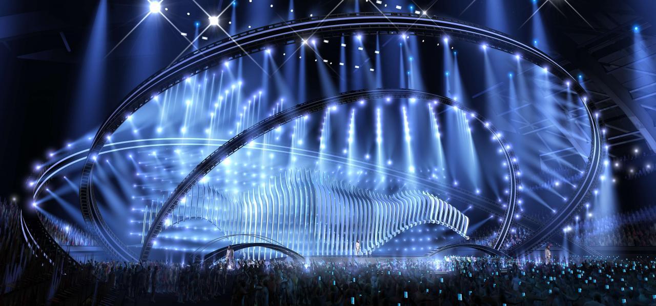 Escenario Eurovisión 2018