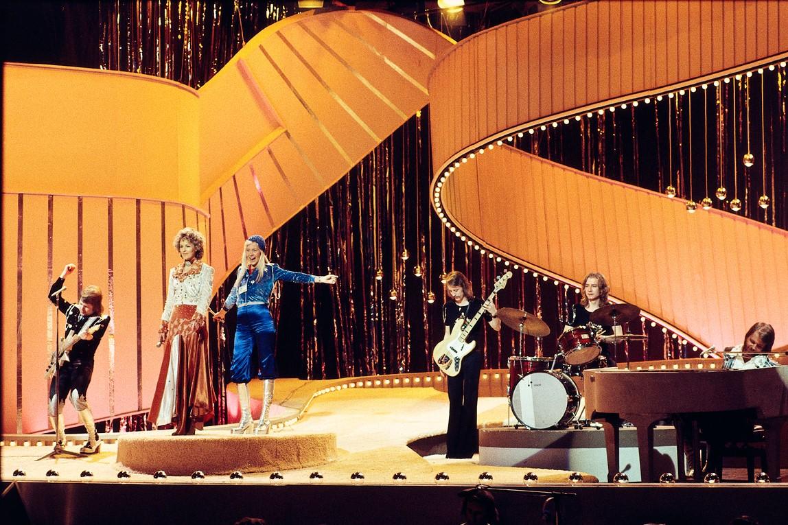 ABBA en Eurovisión