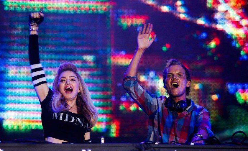Avicii y Madonna