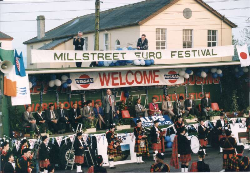 Millstreet durante el fin de semana de Eurovisión en 1993