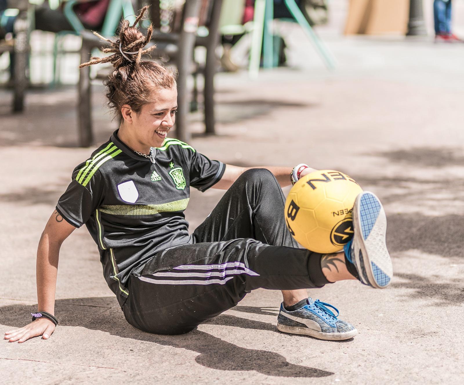 Paloma Pujol Fútbol Freestyle