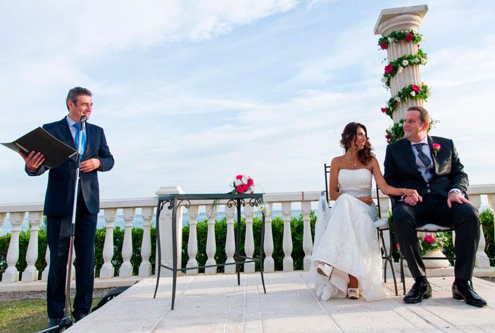 oficiar una boda