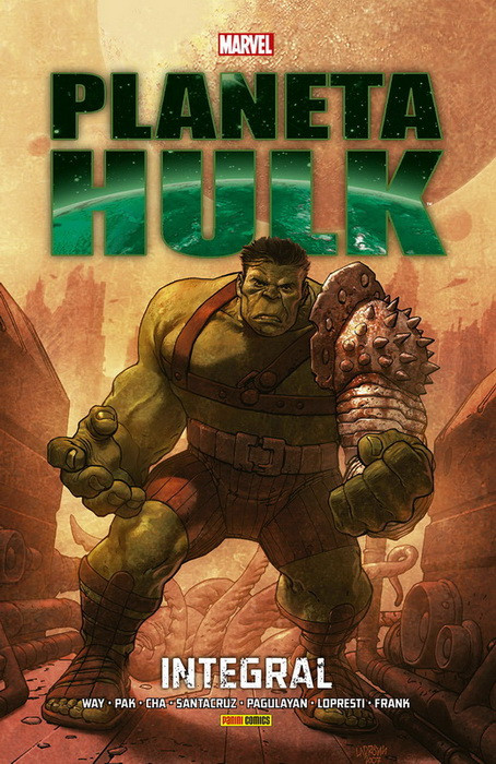 Planet Hulk Panini Marvel