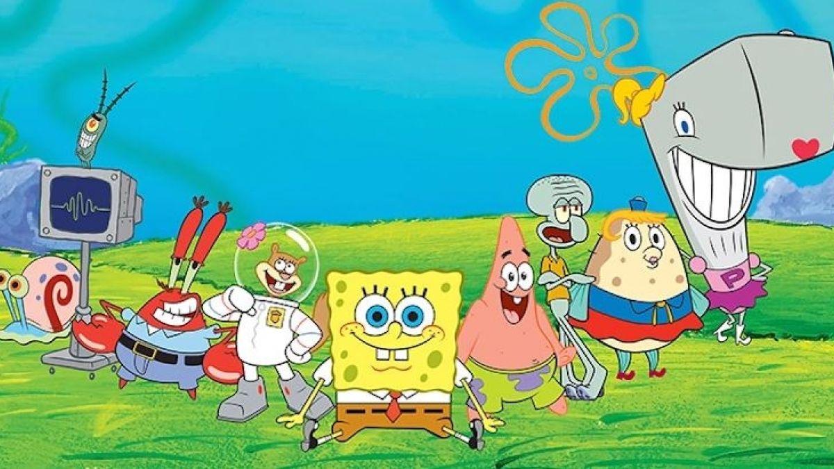 Todos los personajes de Bob Esponja
