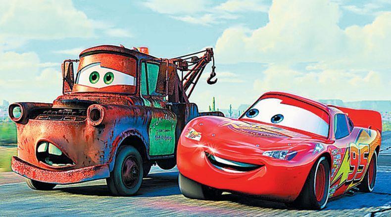 Imagen de una escena de Cars