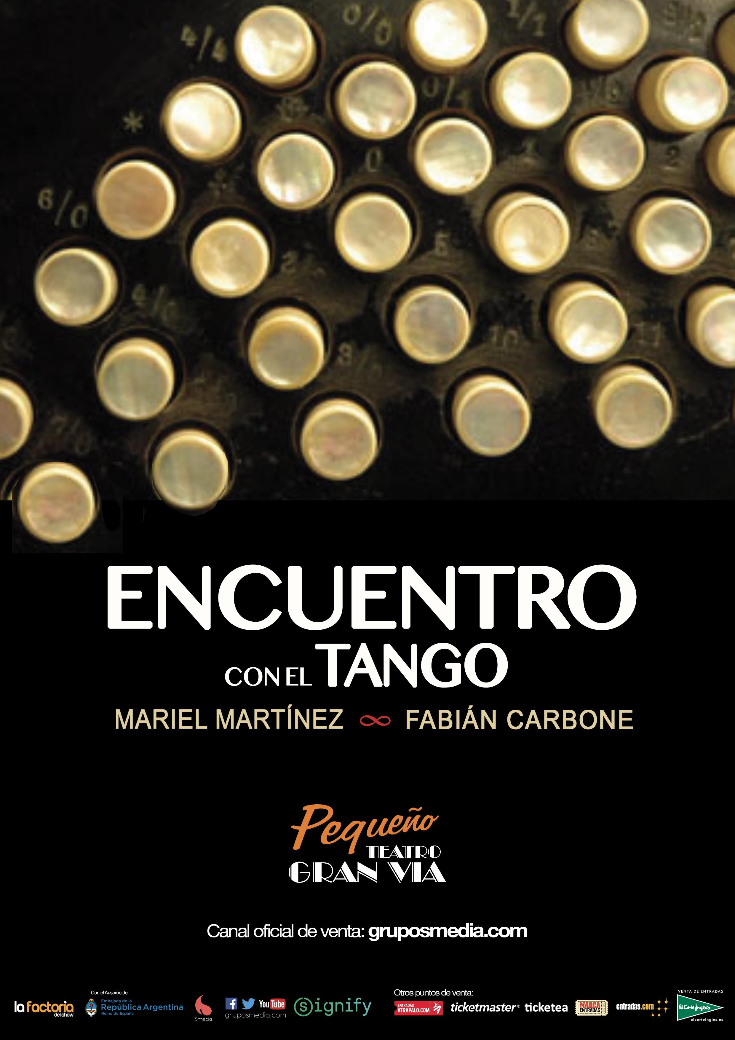Encuentro con el tango en el pequeño teatro de gran via