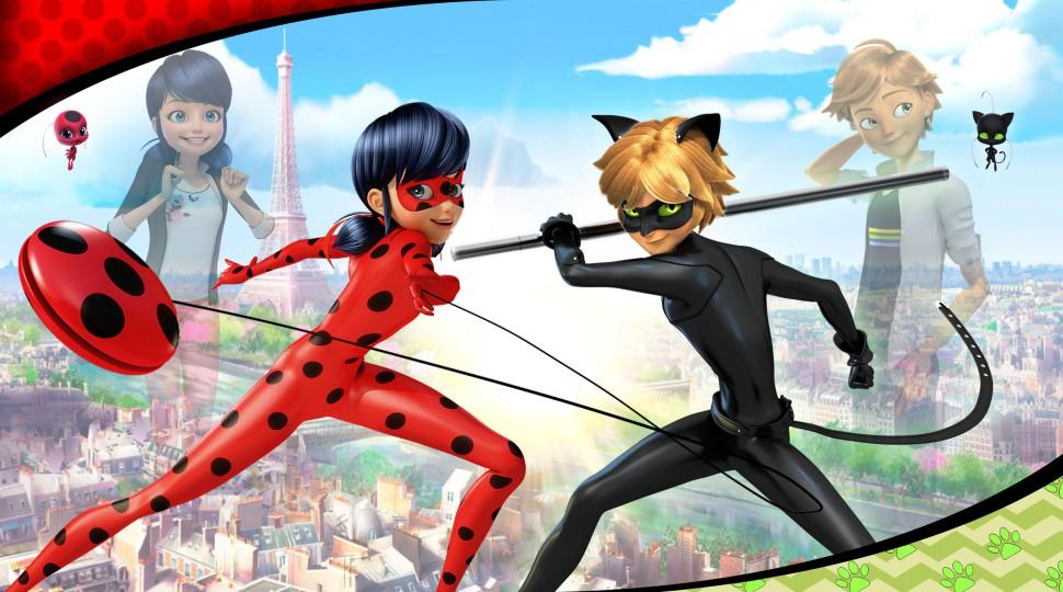 Portada de Miraculous: Las aventuras de Ladybug y Catnoir