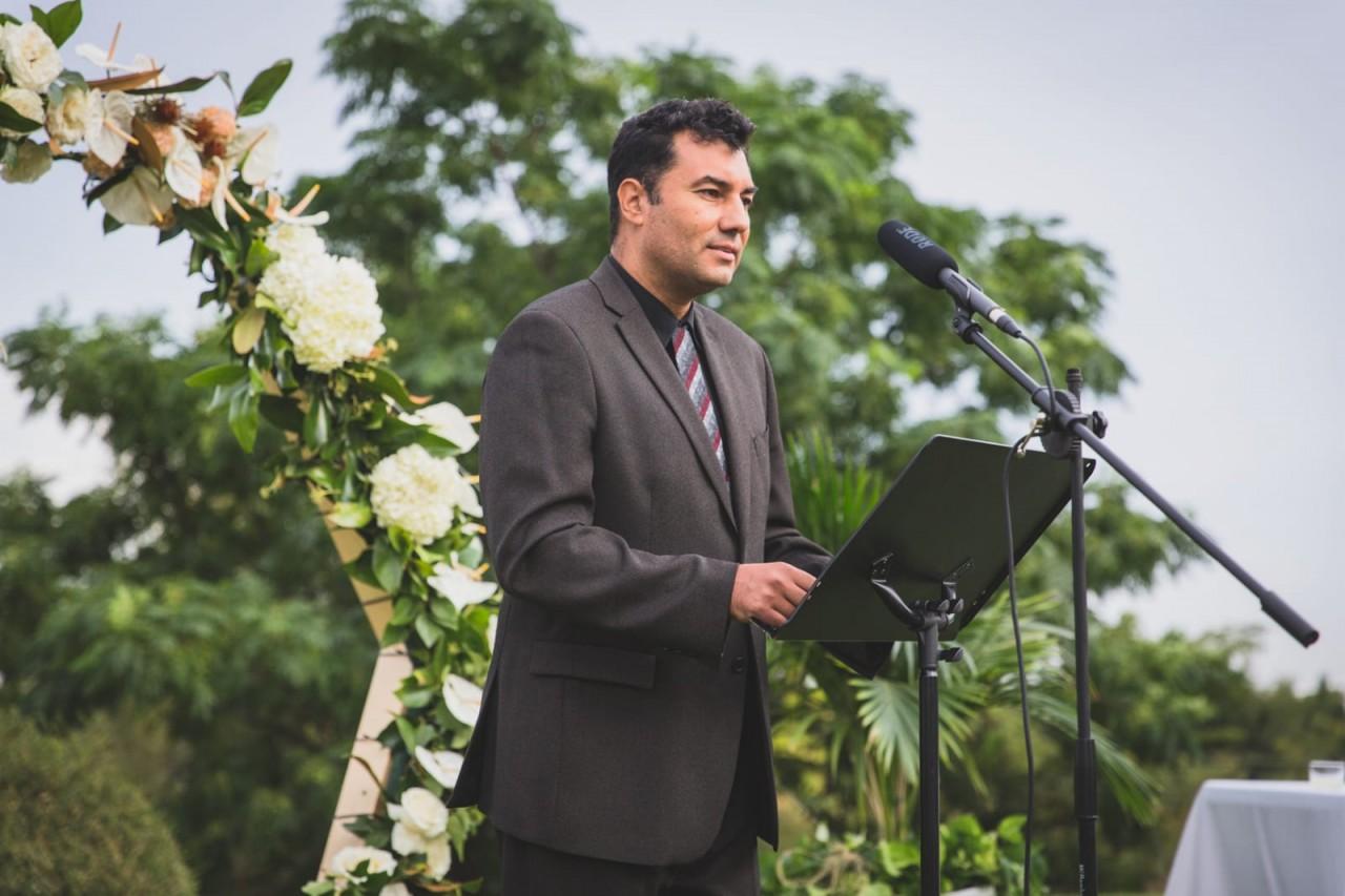 Lorenzo Moncloa Maestro de ceremonias