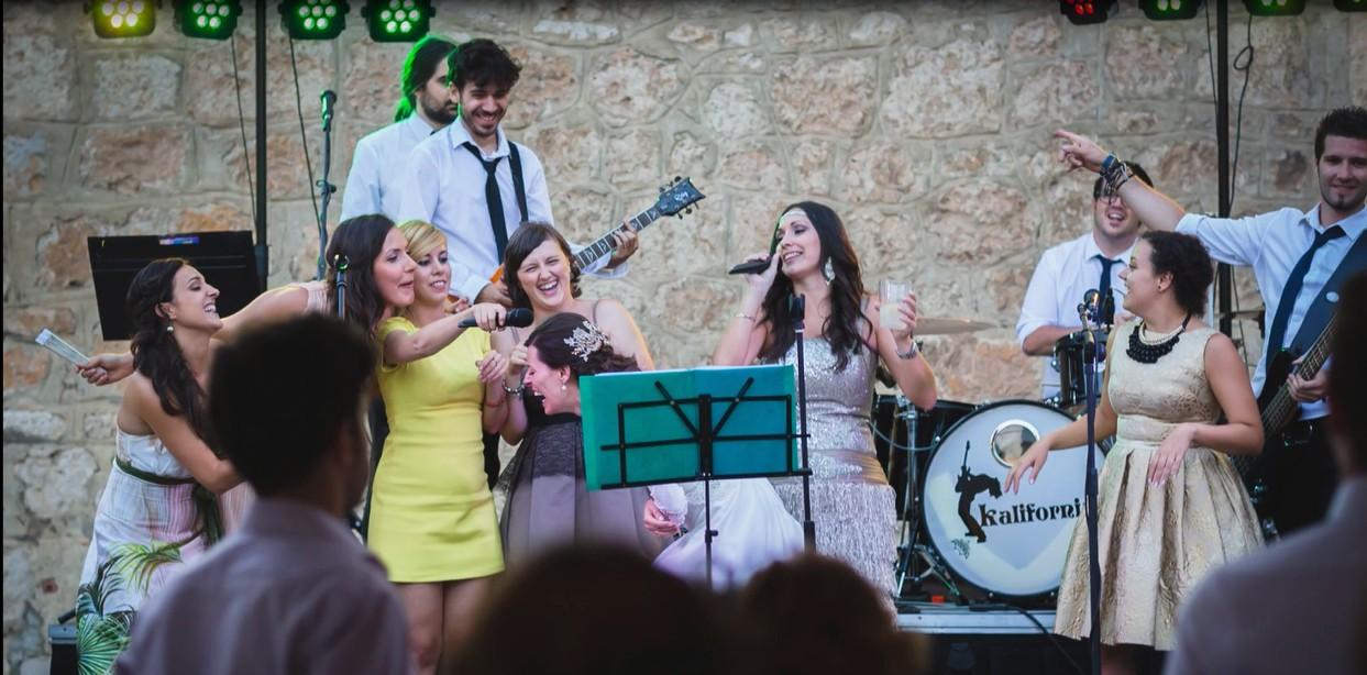 Orquesta Kalifornia para bodas