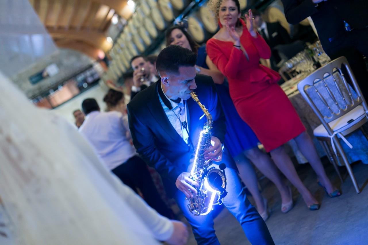 Fabián Rivero Saxofonista para bodas