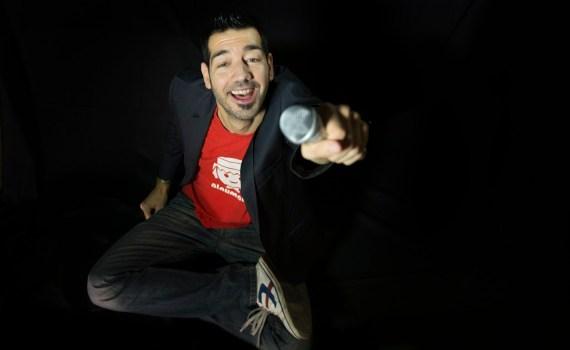 Carlos Barrio, monologuista y formador en habilidades comunicativas