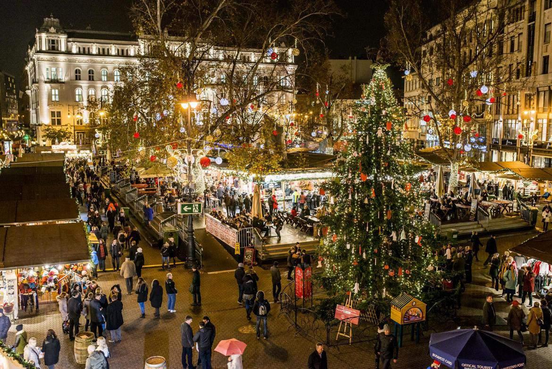Mercado navideño de Budapest