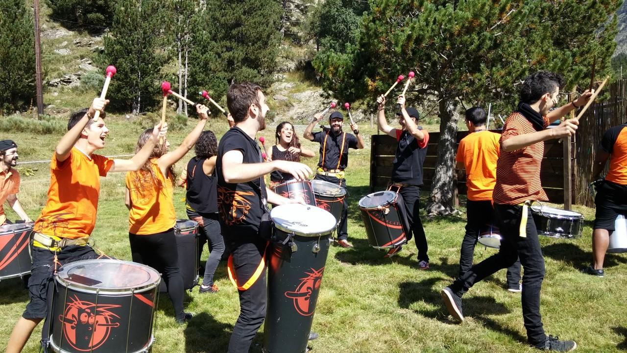 ATABALATS. Grup de percussió d'Esplu | Grupos de Percusión