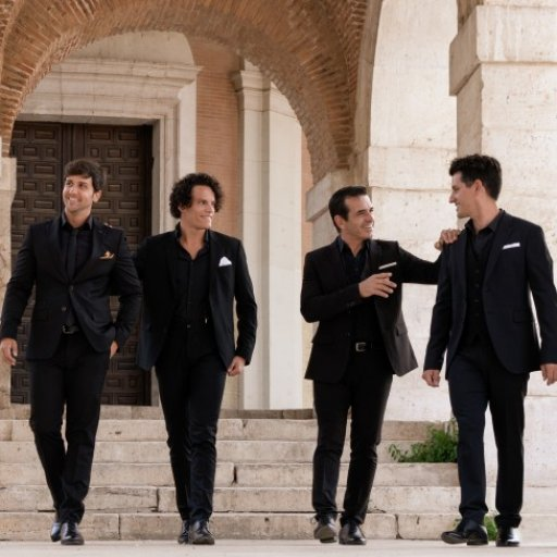 "THE 4 STATIONS "" IL DIVO TRIBUTO"""