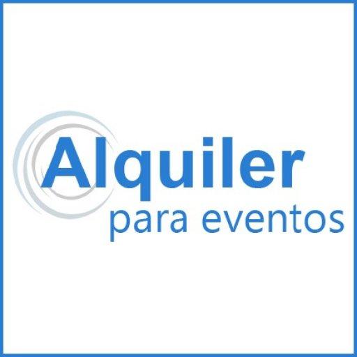 Alquiler para Eventos