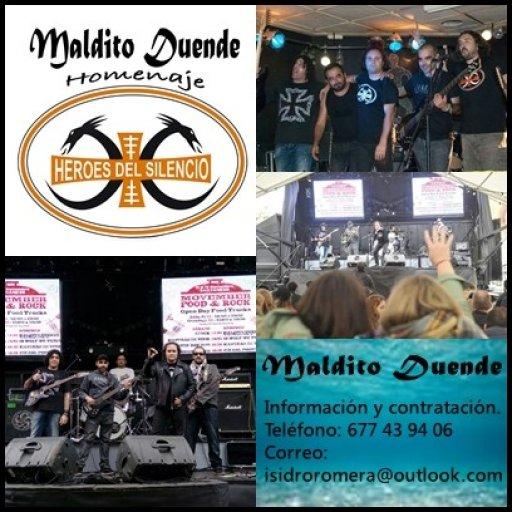 MALDITO DUENDE tributo Héroes del Silencio