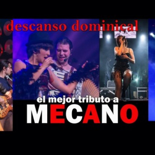Tributo A Mecano. Descanso Dominical