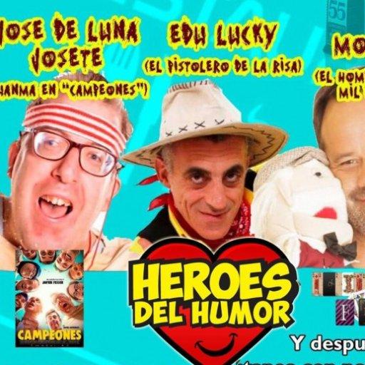 LUKY Y MOSKIS, DOS COMICOS Y UN BAJITO