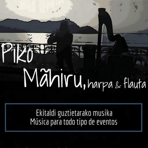 Piko Mahiru, duo de arpa y flauta