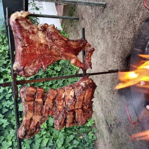 Asados barbacoas manjar criollo