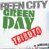 logo green city green day tributo