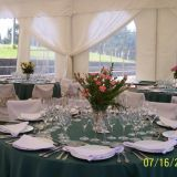 carpa interior verde carramaida catering