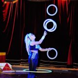 malabares magic circus marilina show