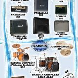 alquiler de backline y equipo de sonido jacks on the rocks servicio integral al musico