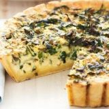 quiche de espinacas nueces y pasas catering natural food