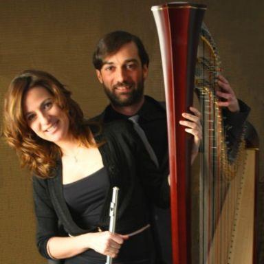 duo de flauta y arpa