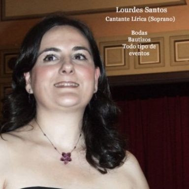 Soprano Lourdes Santos